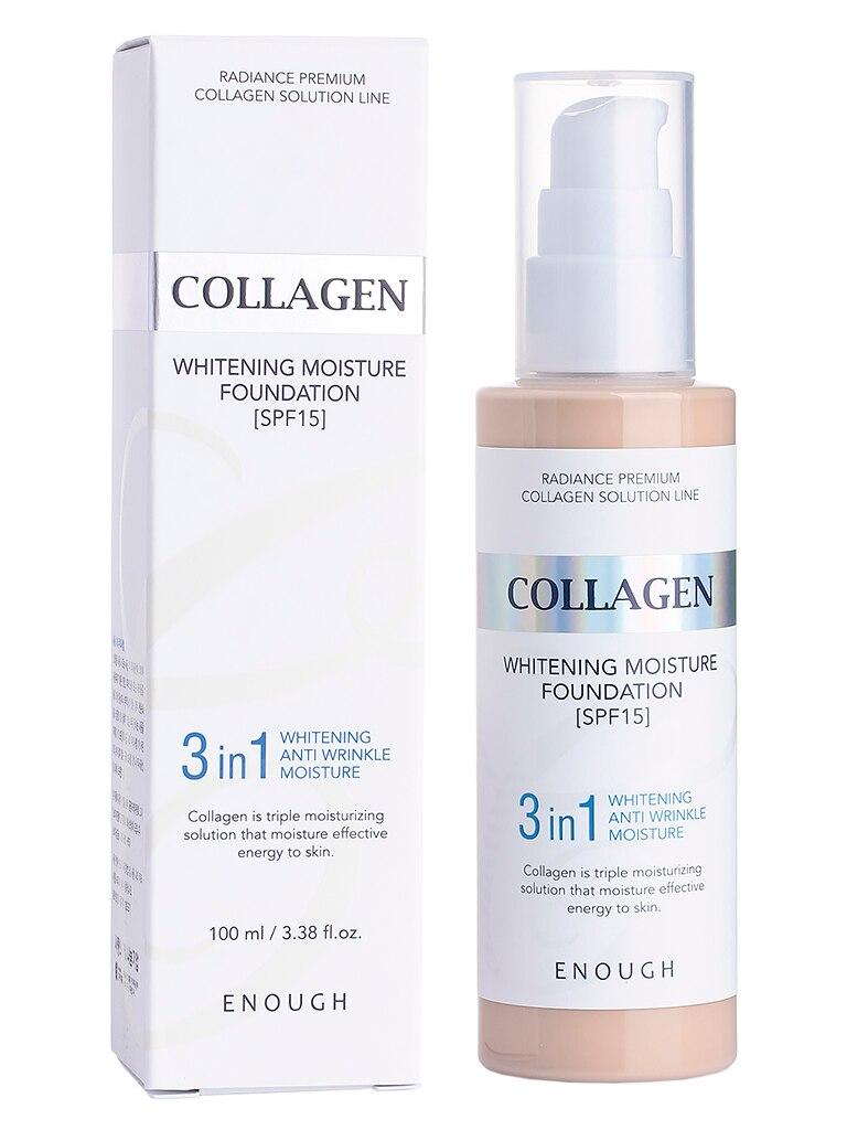 Enough Collagen 3 In 1 Foundation #13 100ml Korean Cosmetic