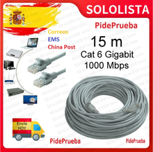 Câble rouge rj45 rj46 en nylon, compatible avec android intelligent m3u IOS PC m3u expédition depuis l'espagne