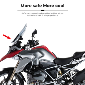Image 4 - R1200GS R1250GS Windscreen Windshield For BMW R1200GS R 1200 GS LC R1250GS ADV Adventure Wind Shield Screen Protector Parts