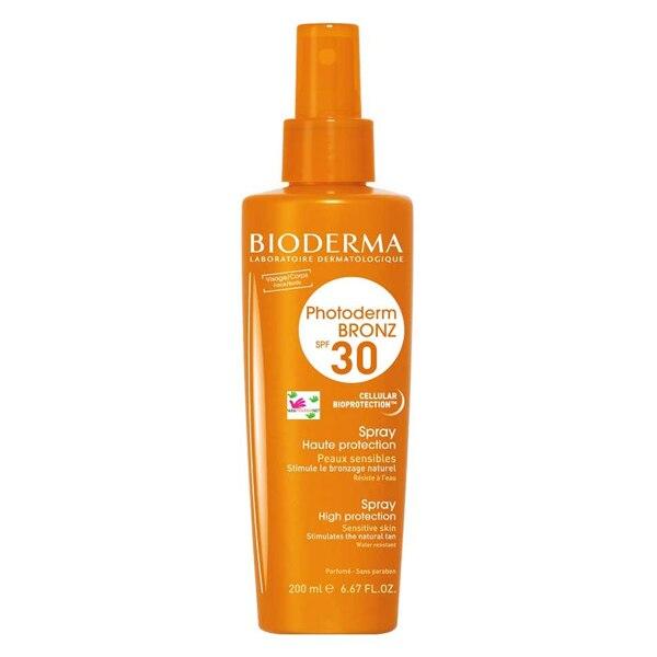 Sonnencreme Öl Bronz Bioderma SPF 30 (200 ml)