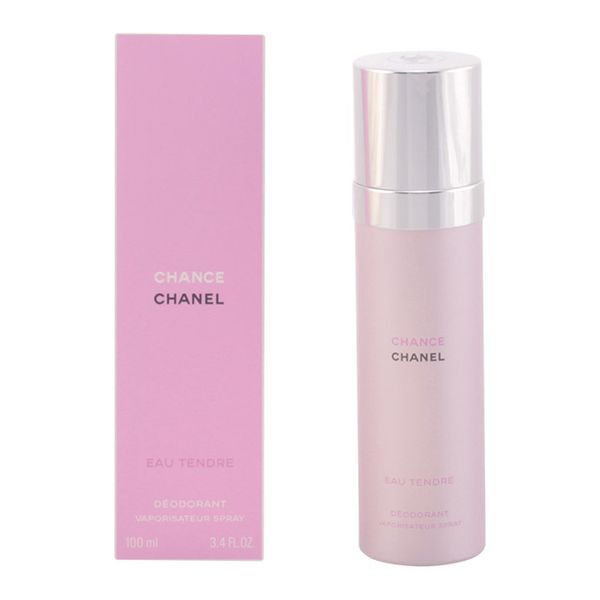 Spray Deodorant Chance Eau Tendre Chanel (100 Ml)