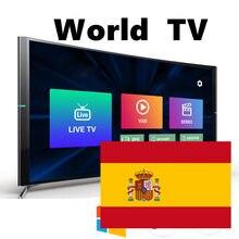 Soporte de caja para android, ios mag, iptv, dispositivos móveis, idiomas do mundo