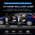 2 PCS HD Laser Led Car Door Courtesy Light Projectior Decoration Welcome Light Automobile Logo Shadow Lamp Car Accessories