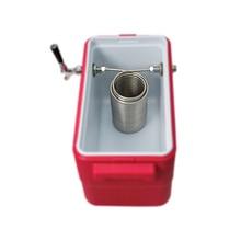 Bobina de acero inoxidable de 50 , bobina Jockey box, para homebrew con conector de acero inoxidable de 5/8G (solo bobina, no incluye caja y grifo)