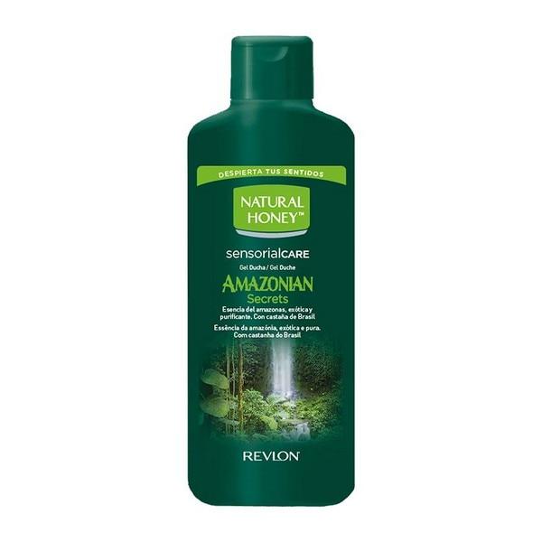 Shower Gel Amazonian Secrets Natural Honey (650 Ml)