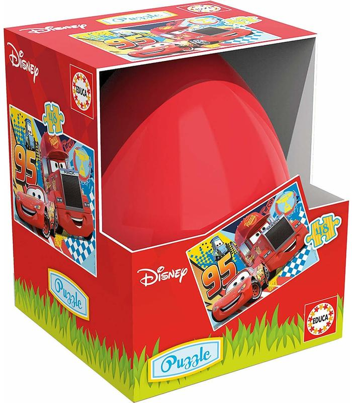Puzzle Eggs Card 3D 40PCS Disney Toy Store