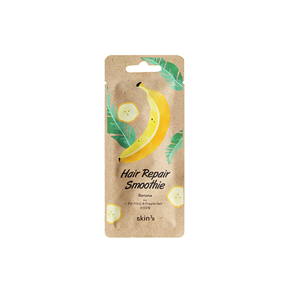 Hair Repair Smoothie - Banana Skin79 Nutrition Damaged Hair Recover Hair Pack Hair Care Products Hair Treatment Masks
