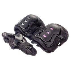 KIT de PROTECTION: genoux, coudes, poignets, uniforme, taille S, plastique,
