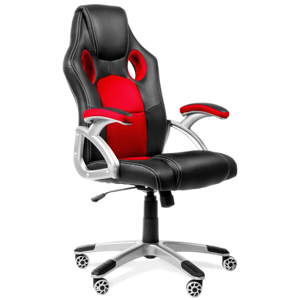 Mc Haus - Silla De Oficina Racing Gaming Sillon De Despacho Color Roja