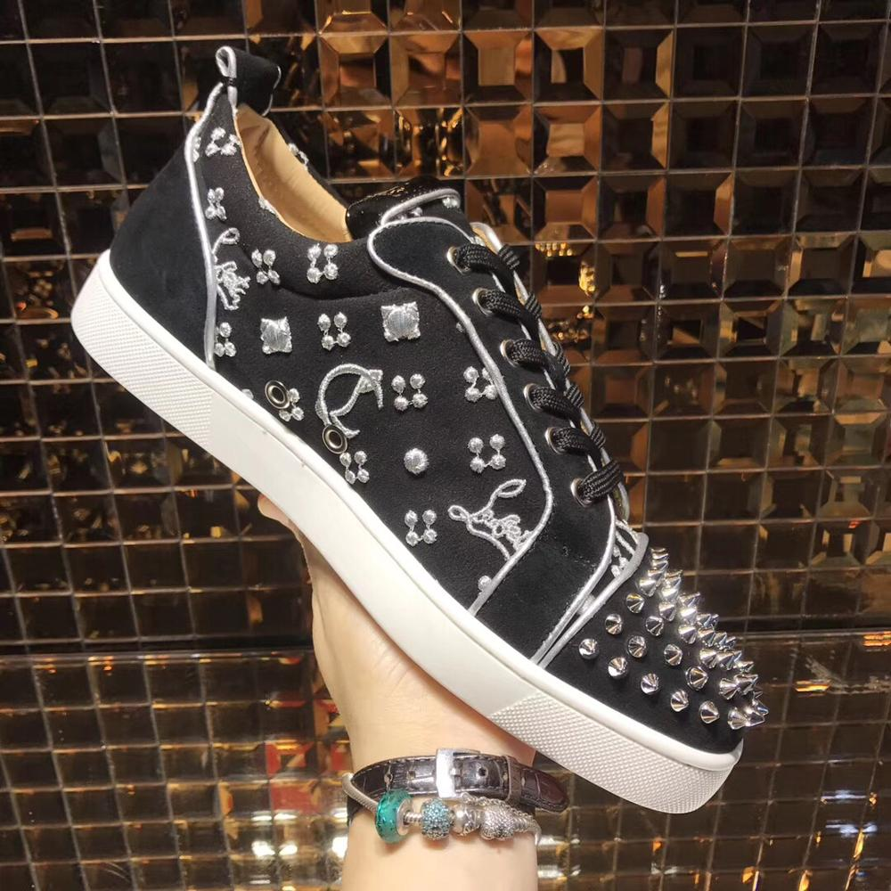 CL Shoes For Man,Luxury Sneakers For Man,Sneakers Louis Junior Spikes Orlato