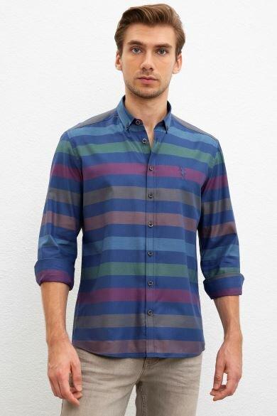 U.S. POLO ASSN. Navy Regular Shirt