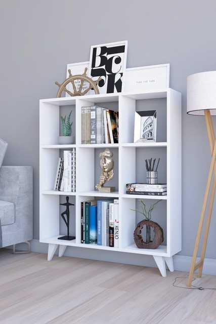 Classic Cubed Book Shelf 1