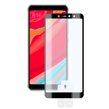 PATRONIZING MACHINE 2.5 D KSIX TEMPERED GLASS 9H FOR XIAOMI REDMI S2 WITH BLACK EDGE (1 PC.)