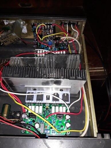 -- Hi-end Amplificador Terminou