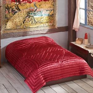 Одеяло ручной работы, винтажное одеяло, этническое атласное покрывало 4700 г, эксклюзивный дизайн Анатолия, всесезонное покрывало из Турция