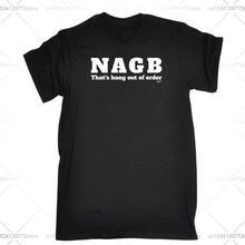 Забавная Мужская футболка модная одежда футболки nagb thats