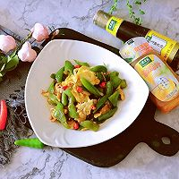 青椒炒鸡蛋#太太乐鲜鸡汁芝麻香油#的做法图解16