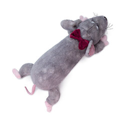 Weiche spielzeug kissen Budi Basa Ratte Sebastian, 50 cm