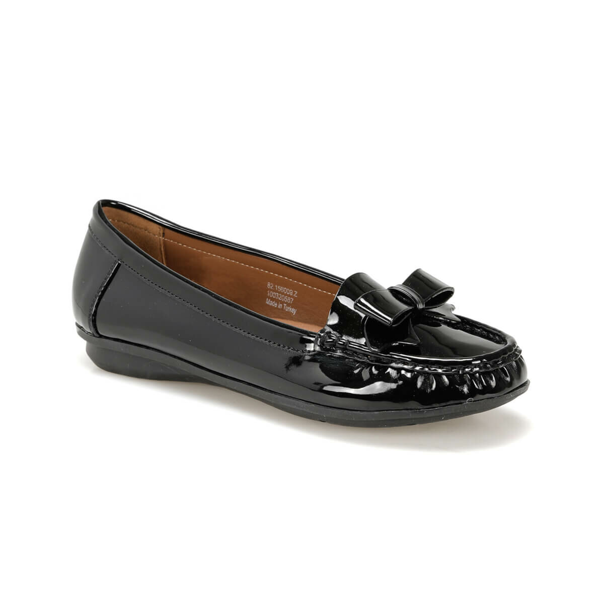 FLO 82.156009.Z Black Women Shoes Polaris