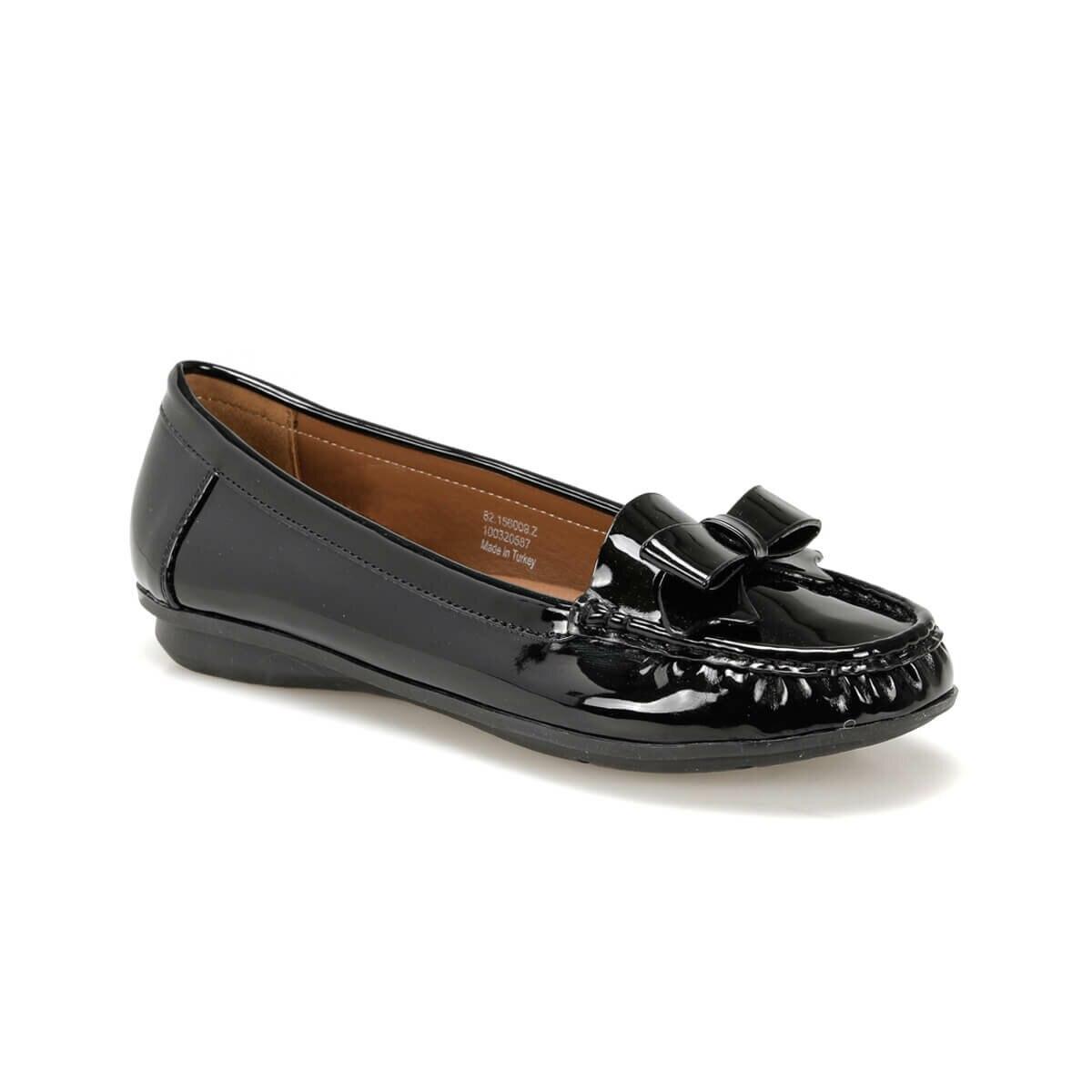 Flo 82.156009.z preto sapatos femininos polaris