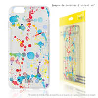 FunnyTech®Stand case for Sony Xperia L1 Silicone L Canvas transparent color