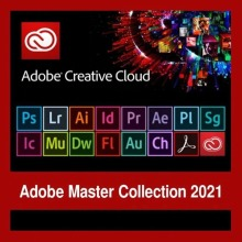 Adobe – toutes les applications créatives Cloud, version 2021 pour Windows/Mac