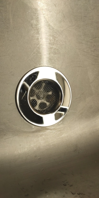 Filtro scarico bagno lavello