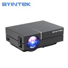 BYINTEK K8 Mini LED HD 720P LCD 1080P โฮมเธียเตอร์โปรเจคเตอร์แบบพกพา (อุปกรณ์เสริม Android 10) สำหรับโทรศัพท์3D 4K