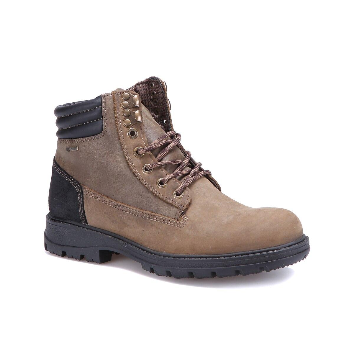 FLO BATES Sand Color Men Boots KINETIX