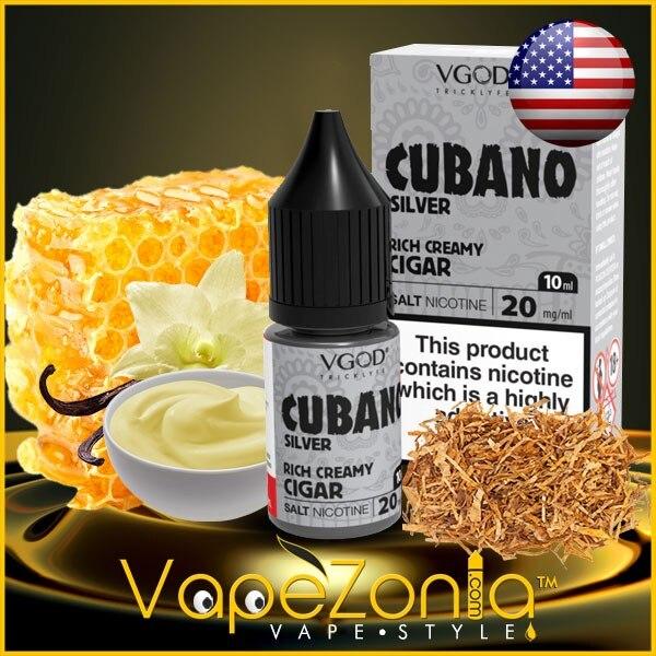 VGOD SaltNic CUBANO SILVER 10 Ml Vape Shop Valencia