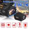 VG3 2 in 1 HD Car Video Recorder With Radar Dectector DVR Auto Video Camera Wide Angle Dash Cam G-Sensor Night Vision Recorder