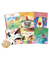 RASS Phonics Kids 1 (Level 1 3) (6 Books + 3 DVD +3 CD + 172 Flash Cards + 3 Posters + 1 Smart Pen)