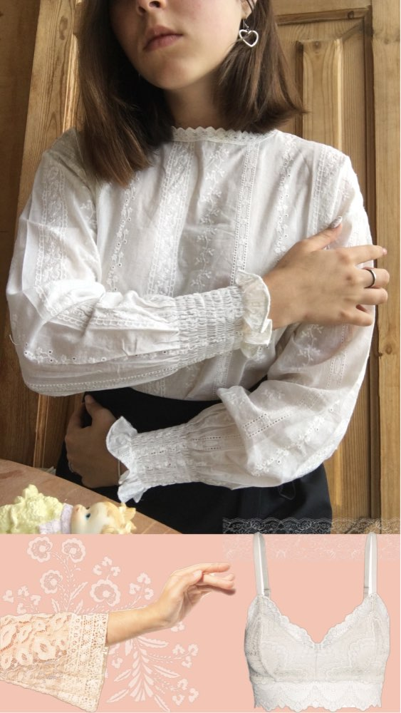 Lace Shirt Spring Femme Casual White Tops Women Long Sleeve Linen Cotton Girls Blouse Plus Size Women Blouses Femme photo review