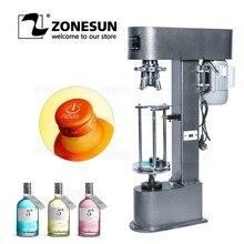 ZONEUN D-type Metal Theft Proof Cap Locking Machine Capping Machine Easy Operation Capper Sealer Aluminum Cap Crimping Machine