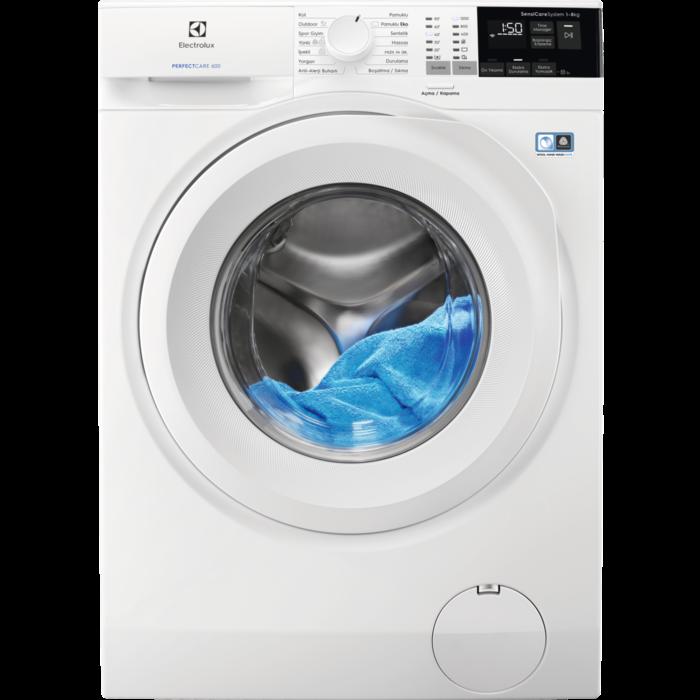 Full Automatic EW6F4822AB Energy Saver A+++ 8 Kg Capacity Laundry Washing Machine 12oo Rev Speed
