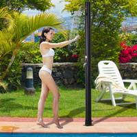 Sandlot shower PVC Outer Power Shower 20 L Shower Garden Sandlot Heating To 60℃ Garden B