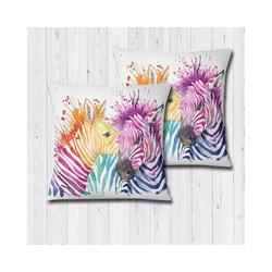 2 sztuki dekoracyjna poduszka 70x70 rdzeń kolorowy Zebra wzorzyste  miękka poduszka podłogowa dekoracja wnętrza siedzenia wykonane w turcji
