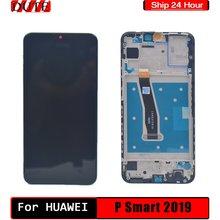 Uygun Huawei P akıllı için 2019 LCD ekran dokunmatik sayısallaştırıcı orijinal, uygun Huawei P akıllı için 2019 LCD yedek parçalar