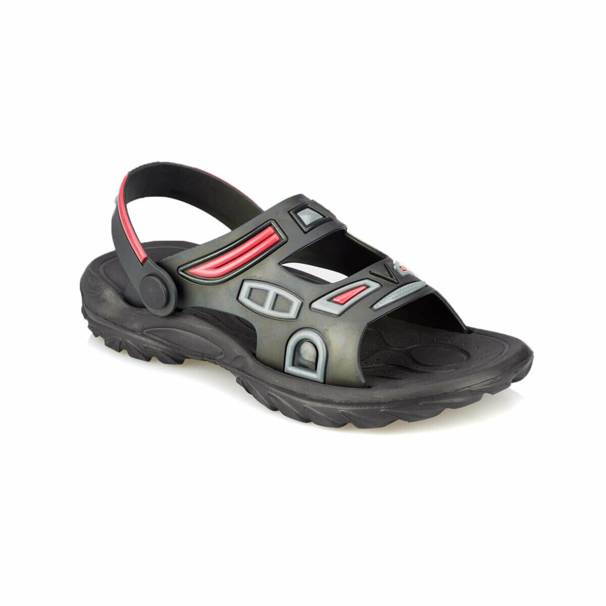 FLO HARLOW Black Male Child Sea Shoes KINETIX