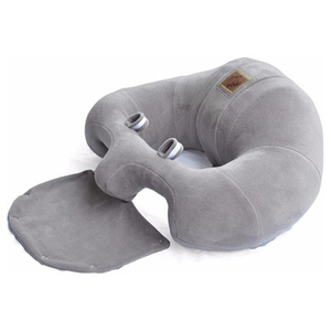 Almofada de apoio para bebê jaju cinza deluxe