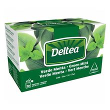 Thé vert menthe 20 sachets de Deltea individuels