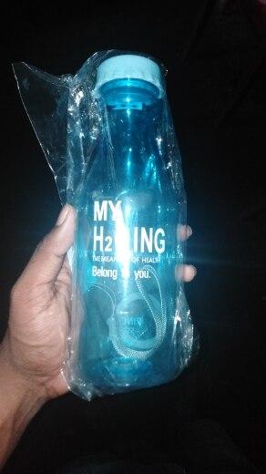 water bottle Unbreakable Outdoor Sports Travel  botella de agua Portable Leak proof Cycling Camping Water garrafa 550ML|water bottle|botella de aguade agua - AliExpress
