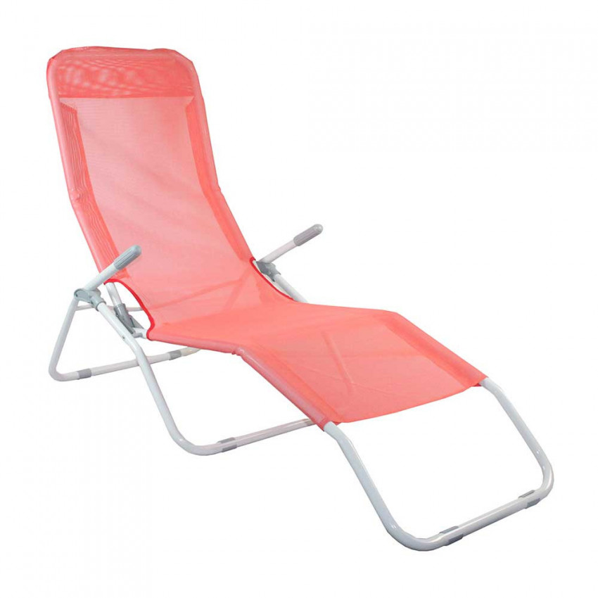 Lounger Adjustable 2 Positions Textile Choral GH91