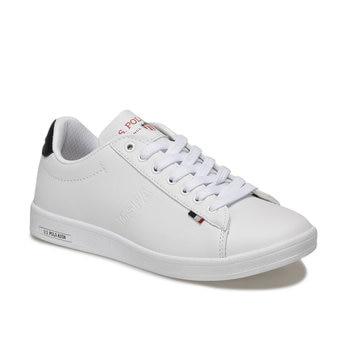 FLO FRANCO White Women 'S Sneaker Shoes U.S. POLO ASSN.