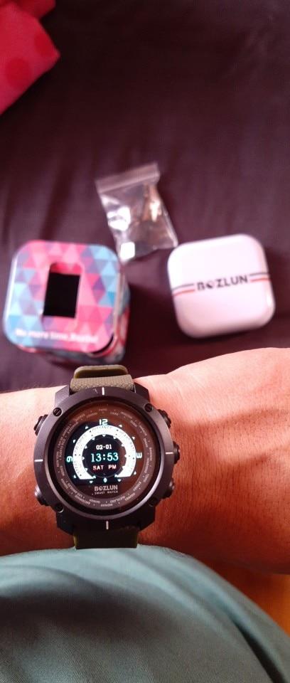 Bozlun New Smart Digital Watch Man HeartRate Calories Remote Camera Waterproof Wristwatch Fashion Watch Relogio Masculino W30 Smart Watches    - AliExpress
