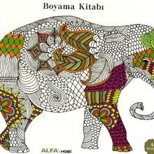 Mandala Animals Coloring Book