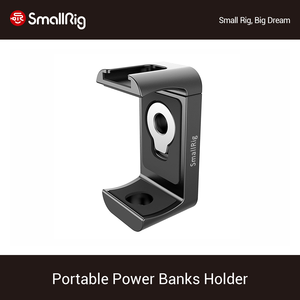 Image 1 - SmallRig Holder for Portable Power Banks For 53mm 81mm Portable Chargers Quick Release Clamp Mount  2378