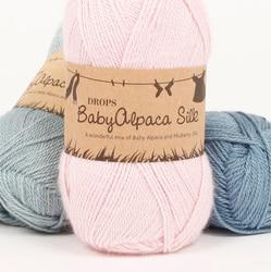 Пряжа DROPS «Baby Alpaca Silk»