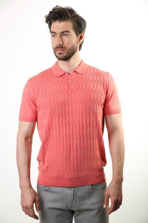Filippo Ghada Polo Collar Male Sweater 4186