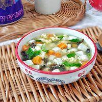 时蔬豆腐汤的做法图解7